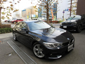 BMW 4シリーズ 420iグランクーペMスポーツ 正規ディーラー下取車 禁煙車