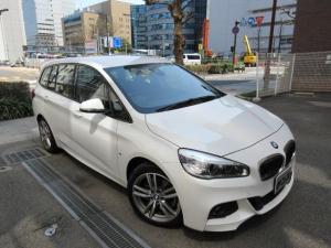 BMW 2シリーズ 220iグランツアラー Mスポーツ ディーラー下取車 禁煙車