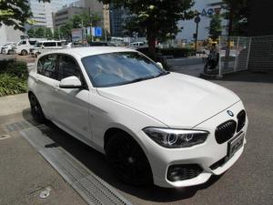 BMW 1シリーズ 118i Mスポーツ エディションシャドー 特別限定車 新車保証継承 正規ディーラー下取車 正規ディーラー記録簿2枚有り 1オーナー禁煙車 サービスPKG実施車 ガレージ保管車 走行10000キロ 茶本革シートヒーター ACC ドライブアシスト