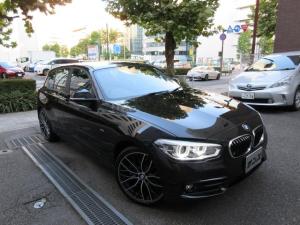 BMW 1シリーズ 118d スポーツ 正規ディーラー下取車 1オーナー 禁煙車 正規ディーラー記録簿2枚有り サービスPKG実施車 HDDナビ バックカメラ 前後センサー ドラレコ コンフォートアクセス ACC シートヒーター 19AW