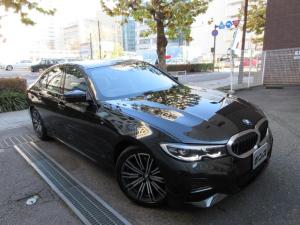 BMW 3シリーズ 320i Mスポーツ ハイラインパッケージ 正規ディーラー入庫車 禁煙車 新車保証継承 12705キロ 茶本革シートヒーター HDDナビバックカメラ前後センサー ACC クルコン パーキングアシスト コンフォートアクセス スペアキー 電動ゲート