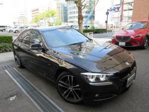 BMW 3シリーズ 320d Mスポーツ エディションシャドー 正規ディーラー下取車 1オーナー 禁煙車 正規ディーラー記録簿2枚完備 ガレージ保管車 ボディーコーテング施工歴有り 黒革ヒーター ACC クルコン Bカメラ 前後センサー LEDライト フィルム貼り