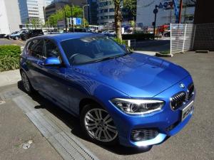 BMW 1シリーズ 118i Mスポーツ 正規ディーラー下取車 1オーナー 禁煙車 ガレージ保管車 ドライビングアシストPKG HDDナビ Bカメラ Bセンサー コンフォートアクセス スペアキー ドラレコ リヤエアコン LEDライト クルコン