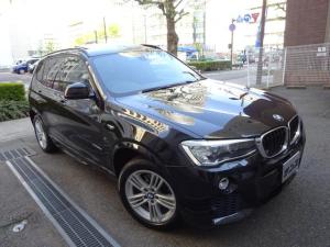 BMW X3 xDrive 20d Mスポーツ 正規ディーラー下取車 禁煙車 正規ディーラーメンテナンス記録5回分有り 半革シート シートヒーター HDDナビ フルセグTV 全周囲カメラ前後センサー サンルーフ ドラレコ 電動ゲート 5面フィルム貼