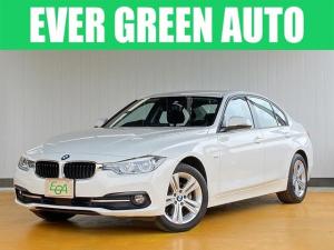 BMW 3シリーズ 320i スポーツ 修復歴なし 禁煙車 ワンオーナー 自動衝突被害軽減ブレーキ 純正HDDナビ バックモニター アクティブクルーズ スマートキー パワーシート LEDヘッドライト・フォグ 純正17インチAW i-stop
