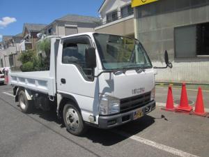 いすゞ エルフトラック 強化フルフラットローダンプ 2T積 車両総重量5T未満5MT
