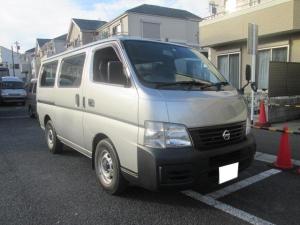 日産 キャラバン ロングDX ガソリン車 5MT 低床荷台 5ドア Rクーラー
