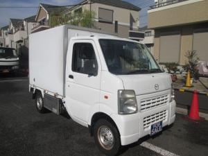 マツダ スクラムトラック  冷蔵冷凍車 1オーナー 記録簿 禁煙車 サイドドア -5℃設定 4WD エアコン パワステ 5MT
