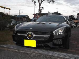 メルセデスAMG GT S ダイナミックパッケージ 可変式エグゾースト 赤×黒シート