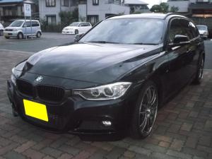 BMW 3シリーズ 320dツーリング Mスポーツ 軽油 サンルーフ 黒革シート