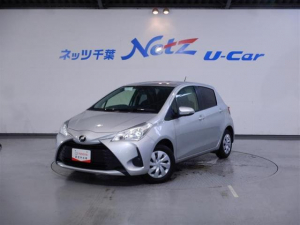 トヨタ ヴィッツ F 前歴レンタカー SDナビ タイヤ4本新品交換 ETC