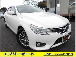 トヨタ マークX 250G イエローレーベル ナビ TV ETC ドラレコ PWシート