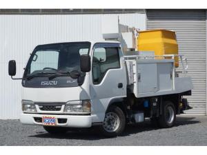 いすゞ エルフトラック ベースグレード 高所作業車 アイチ製 8メートル 後方モニター