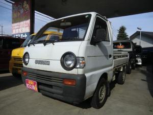 スズキ キャリイトラック KU 4速マニュアル 4WD エアコン 記録簿付き