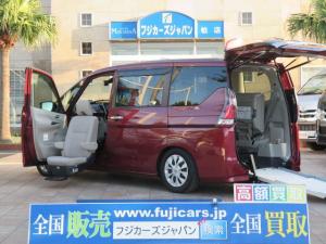 日産 セレナ 福祉車両 リアスロープ 助手席リフトアップシート 7人1基