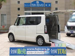 ホンダ N-BOX+ 福祉車両 リアスロープ 純正SDナビ 電動ウインチ