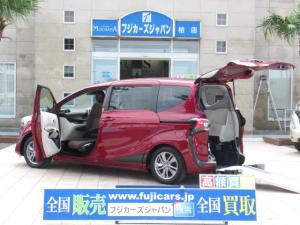 トヨタ シエンタ G 福祉車両 ウェルキャブ  リアスロープ 助手席回転シート 5人乗車いす1基固定 1オーナー 電動固定装置 後退防止ベルト セーフティーセンス 純正SDナビ アラウンドビューモニター ETC2.0