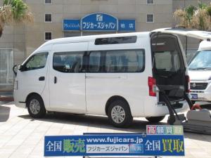 日産 NV350キャラバンバン  福祉車両 チェアキャブ M仕様 車いす2基
