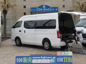 日産 NV350キャラバンバン  福祉車両 チェアキャブ M仕様 車いす2基固定 10人