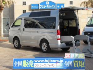 トヨタ ハイエースバン  福祉車両 ウェルキャブ Cタイプ 車いす1基 ディーゼル