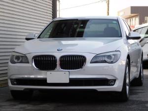 BMW 7シリーズ 740i 走行5.3万km 右ハンドル 黒革 バックカメラ 地デジナビ ミラー内臓ETC