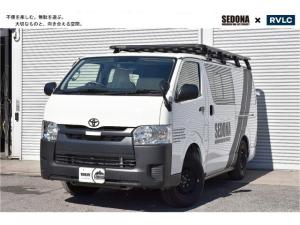 トヨタ ハイエースバン DX 4WD 車中泊 バンライフ SEDONA TYPEIII 無垢材×ブラックアイアン 展示車デモカー