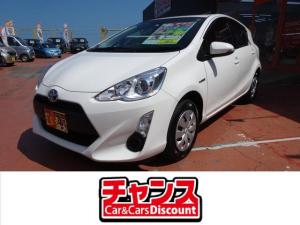 トヨタ アクア L ABS Wエアバッグ キーレス CD ETC