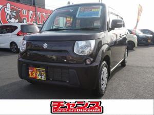 スズキ MRワゴン ECO-X スマートキー ナビ TV CD ベンチシート ウインカーミラー Wエアバック ABS プッシュスタート