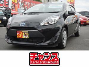 トヨタ アクア Sスタイルブラック スマートキー ナビ CD DVD ETC ウインカーミラー レーダーブレーキサポート ステアリングスイッチ