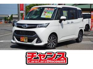 トヨタ タンク カスタムG 両側パワースライドドア スマートキー CD