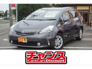 トヨタ プリウスアルファ S メモリーナビ フルセグ バックカメラ CD DVD