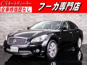 日産 フーガ 250GT タイプP 黒革冷暖房シート HDDナビ ETC付