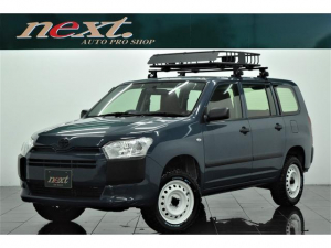 トヨタ プロボックス DXコンフォート 4WD リフトアップ 新品MTタイヤ キャリアラック シートカバー カスタム