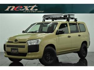 トヨタ プロボックス GL ナビ 地デジTV フルセグ ETC 新品MTタイヤ リフトアップ キャリアラック カスタム キーレス 電動格納ミラー