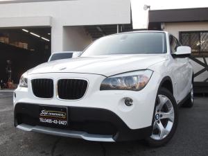 BMW X1 sDrive 18i オゾン殺菌消臭済/プッシュスタート/純正ミラーETC/社外ナビ/地デジTV/DVD再生/バックカメラ/全面ポリッシュ&天然カルナバワックス (グラフェンハードワックス)ビードジューストップコート仕上げ