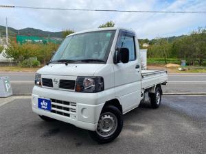 日産 クリッパートラック DX 5速MT エアコン 作業灯 パワステ 三方開き ツールロッカー付き