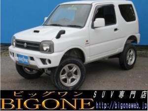 スズキ ジムニー XG 4WDターボ 3インチUP 社外マフラー RECARO