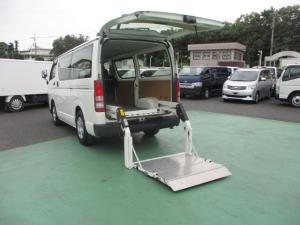トヨタ ハイエースバン ロングDX低床リフト付き1.2t積 5ドア ガソリン車