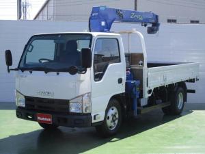 いすゞ エルフトラック 標準ロング 3段クレーン 2t積 ラジコン付き