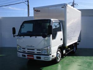いすゞ エルフトラック 3.0Dターボ アルミバン 1.5t積 ラッシングレール