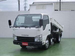 いすゞ エルフトラック 3.0Dターボ 2t強化ダンプ フルフラットローT