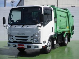 いすゞ エルフトラック 3.0Dターボ プレス式パッカー車 4.3立米 2t積