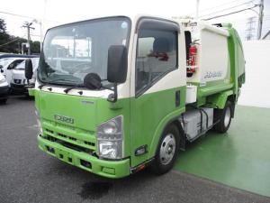 いすゞ エルフトラック プレスパッカー 4.0立米 2t積 連続運転