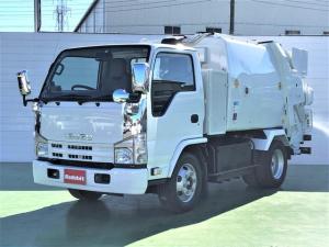いすゞ エルフトラック  3.0Dターボ プレス式パッカー車 3.8立米 3.05t積 連続運転