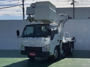 いすゞ エルフトラック  3.0Dターボ タダノ製高所作業車 11.9m FRPバケット