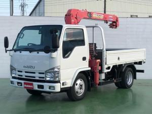 いすゞ エルフトラック  3.0Dターボ 3段クレーン 2.9t積 ラジコン付き