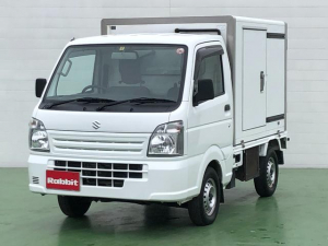 スズキ キャリイトラック  冷蔵冷凍車 -5℃設定 5速マニュアル パワーウインドウ ワンタッチサイドドア