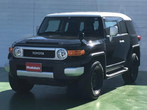 トヨタ FJクルーザー ベースグレード 4WD 純正ナビ 地デジフルセグTV DVDビデオ Bluetooth バックカメラ