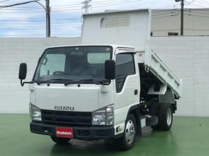 いすゞ エルフトラック 強化フルフラットローダンプ 2t積 全低床 ダンプピン 5速マニュアル HSA