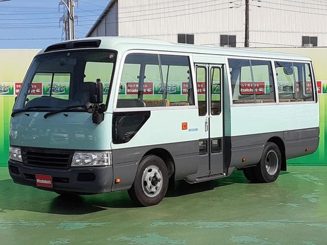 幼児バス 大人3人幼児39人 4.0Dターボ オートマ車 左電格リモコンミラー リアクーラーヒーター 純正CD・MD